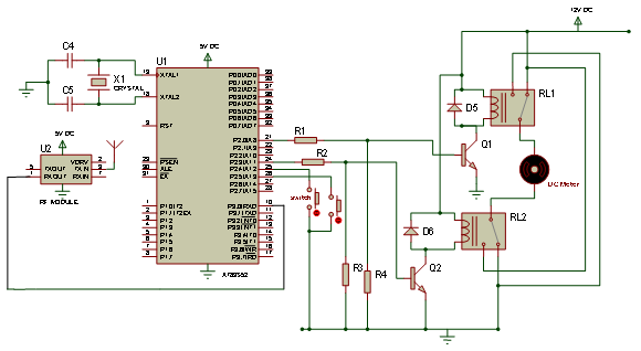 An electronically controlled automatic security access gate schematic diagram of receiving unit asfbconference2016 Gallery